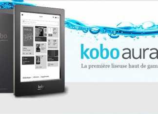 Kobo Aura H2O : un eBook reader résistant à l'eau, photo vidéo et test  4