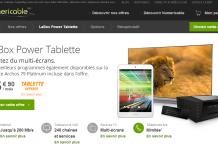 LaBox Power Tablette : Numericable vous offre une Archos 79 Platinum 2