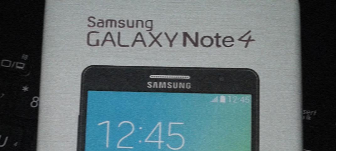 Samsung Galaxy Note 4 : les premières images circulent sur le web