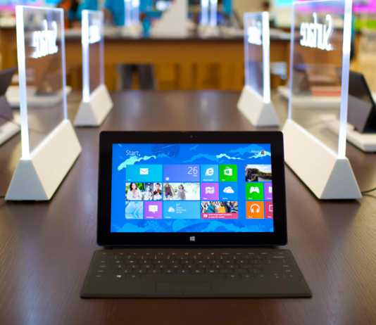 Microsoft va supprimer le bureau sur Windows RT 1