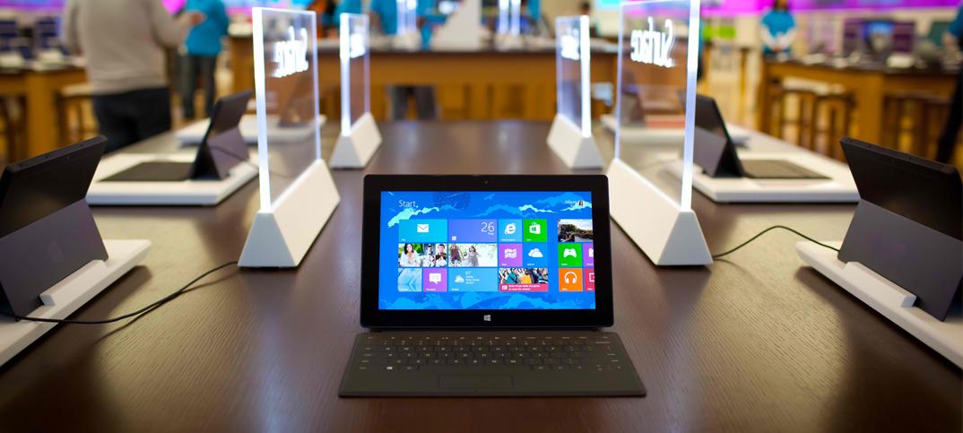 Microsoft va supprimer le bureau sur Windows RT