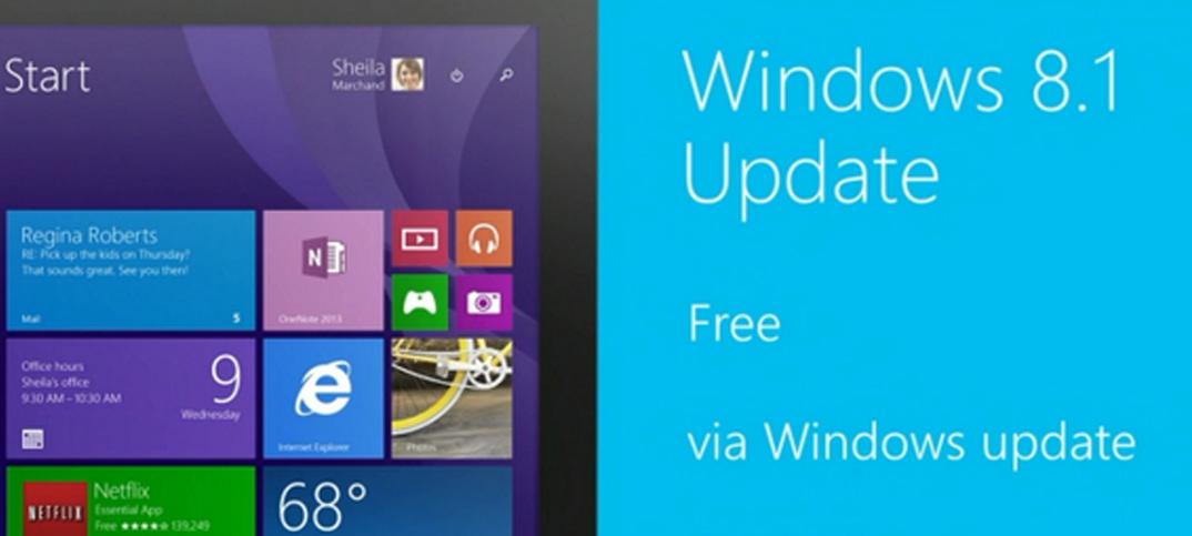Microsoft déploie sa mise à jour de Windows 8.1