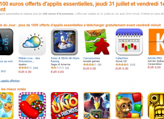 100€ d'applications offertes sur l'App-Shop d'Amazon ! 2
