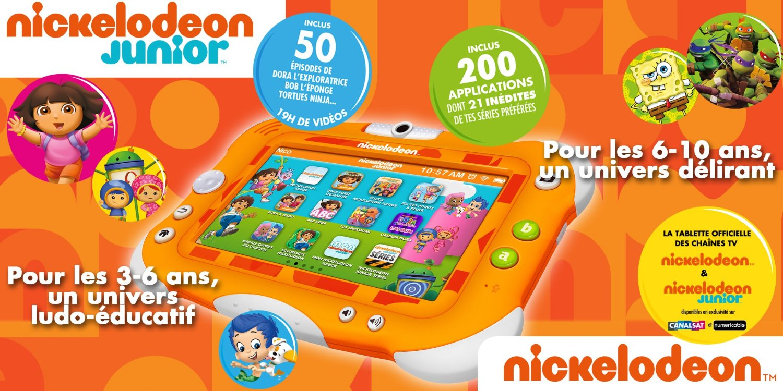 La tablette nickelodeon by videojet la tablette - Jeux de nick junior ...