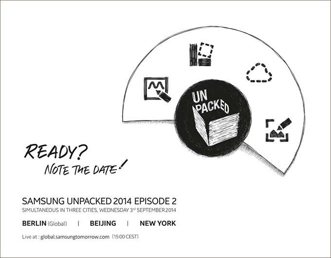Samsung Galaxy Note 4 : sortie officielle le 3 septembre !