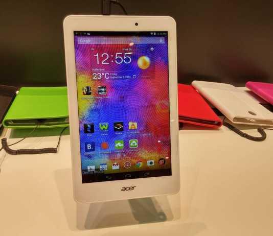 [IFA 2014] Acer présente ses nouvelles tablettes tactiles Iconia Tab  10
