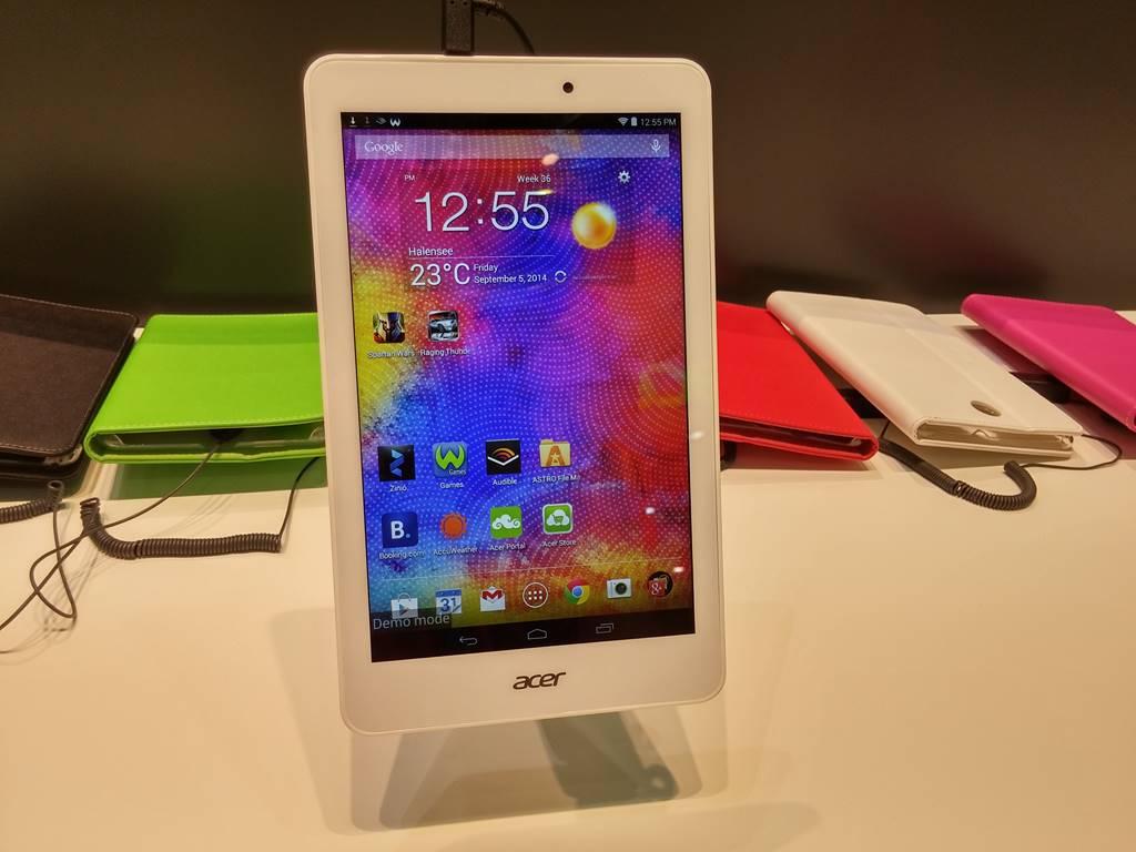 [IFA 2014] Acer présente ses nouvelles tablettes tactiles Iconia Tab