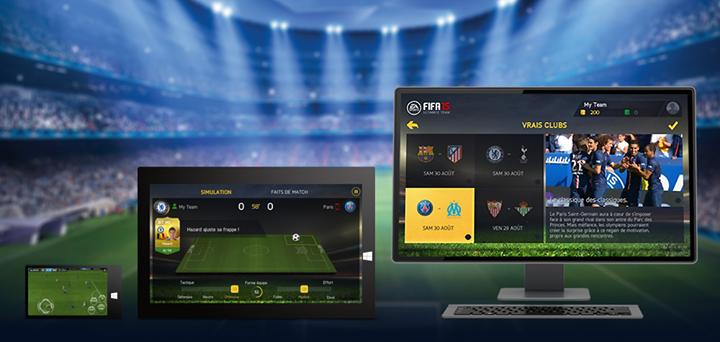 Fifa 15 disponible sur Android, iPad et Windows !