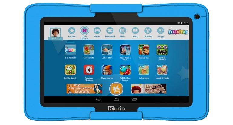 Kurio Xtreme : la première tablette enfant dotée de capteurs de mouvement
