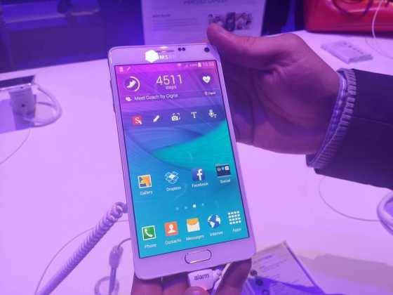 Samsung Galaxy Note 4 : tout ce qu'il faut savoir sur la nouvelle phablette 41