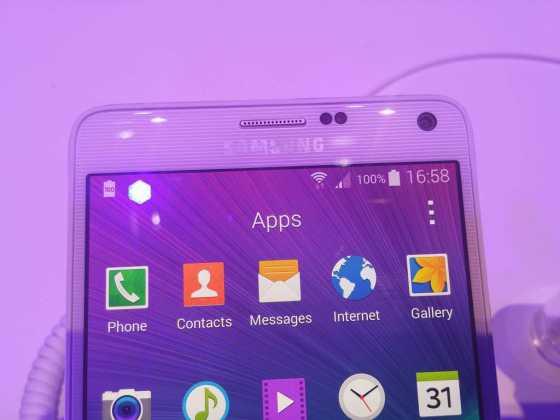 Samsung Galaxy Note 4 : tout ce qu'il faut savoir sur la nouvelle phablette 37