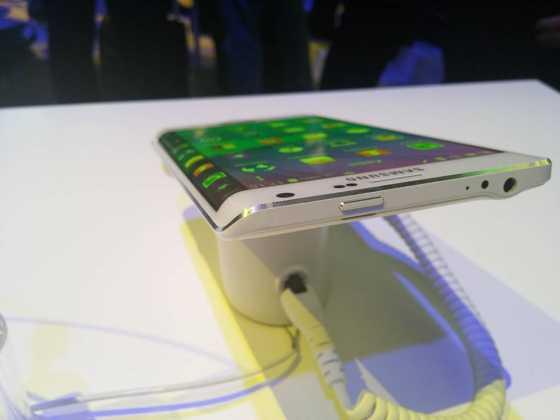 Prise en main du Samsung Galaxy Note Edge 22
