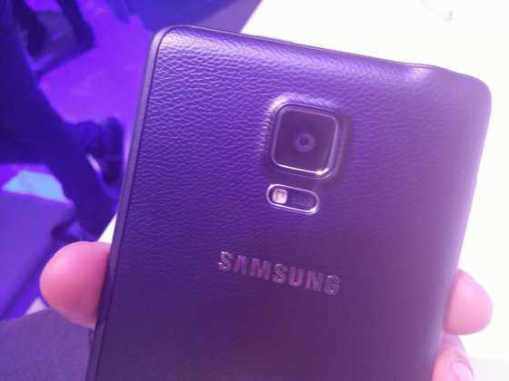 Prise en main du Samsung Galaxy Note Edge 16