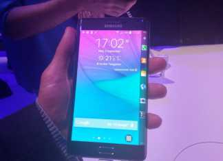 Prise en main du Samsung Galaxy Note Edge 6