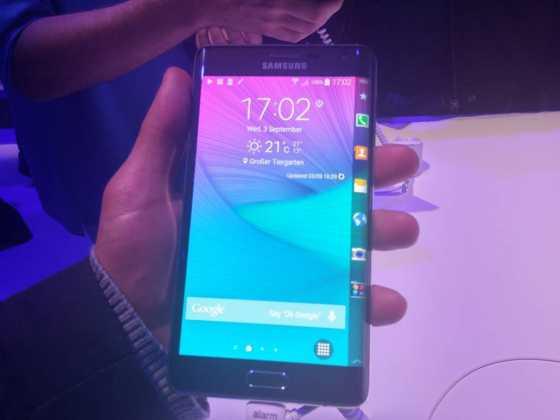 Prise en main du Samsung Galaxy Note Edge 6