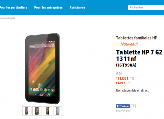 Une tablette HP 7 G2 low cost fait son apparition ! 1