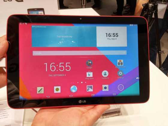 Prise en main : Tablettes LG G Pad Series (7, 8 et 10 pouces) 10