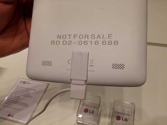 Prise en main : Tablettes LG G Pad Series (7, 8 et 10 pouces) 19