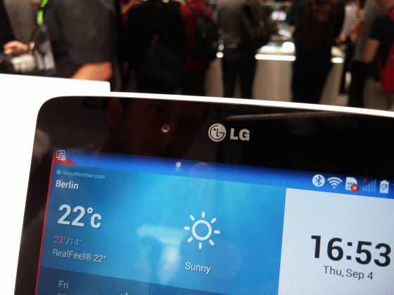Prise en main : Tablettes LG G Pad Series (7, 8 et 10 pouces) 20