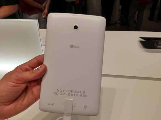 Prise en main : Tablettes LG G Pad Series (7, 8 et 10 pouces) 18