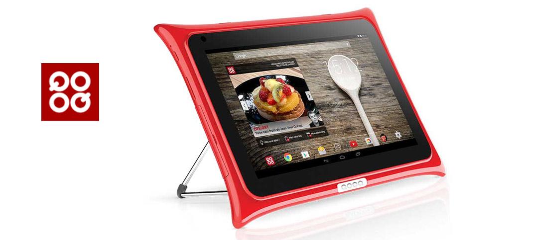 la tablette qooq s 39 offre une nouvelle jeunesse. Black Bedroom Furniture Sets. Home Design Ideas
