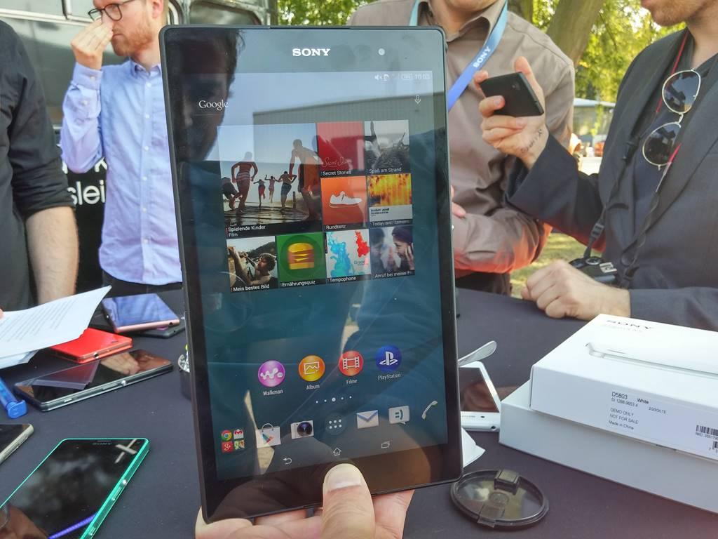 IFA 2014 : Sony nous présente la Xperia Z3 Tablet Compact