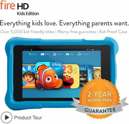 Kindle Fire HD Kids Edition : la tablette enfant d'Amazon ! 6