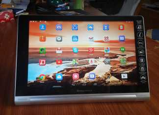 Test de la tablette Lenovo Yoga 10 HD+ 12