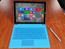 Test Microsoft Surface Pro 3 3