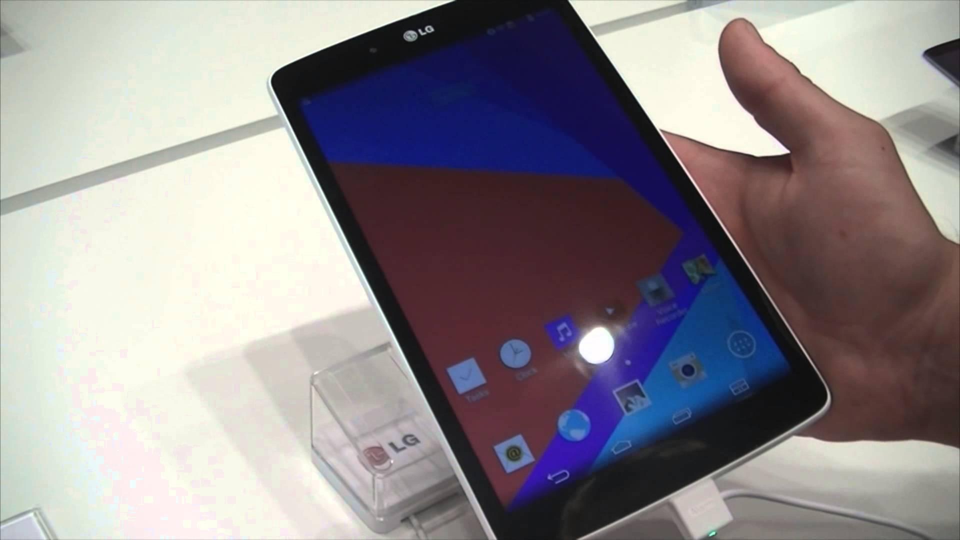 Prise en main : Tablettes LG G Pad Series (7, 8 et 10 pouces)