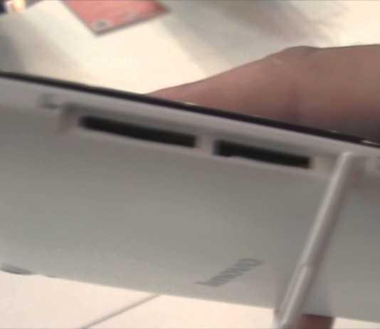 IFA 2014 : Photos et vidéo de la tablette Lenovo Tab S8 1