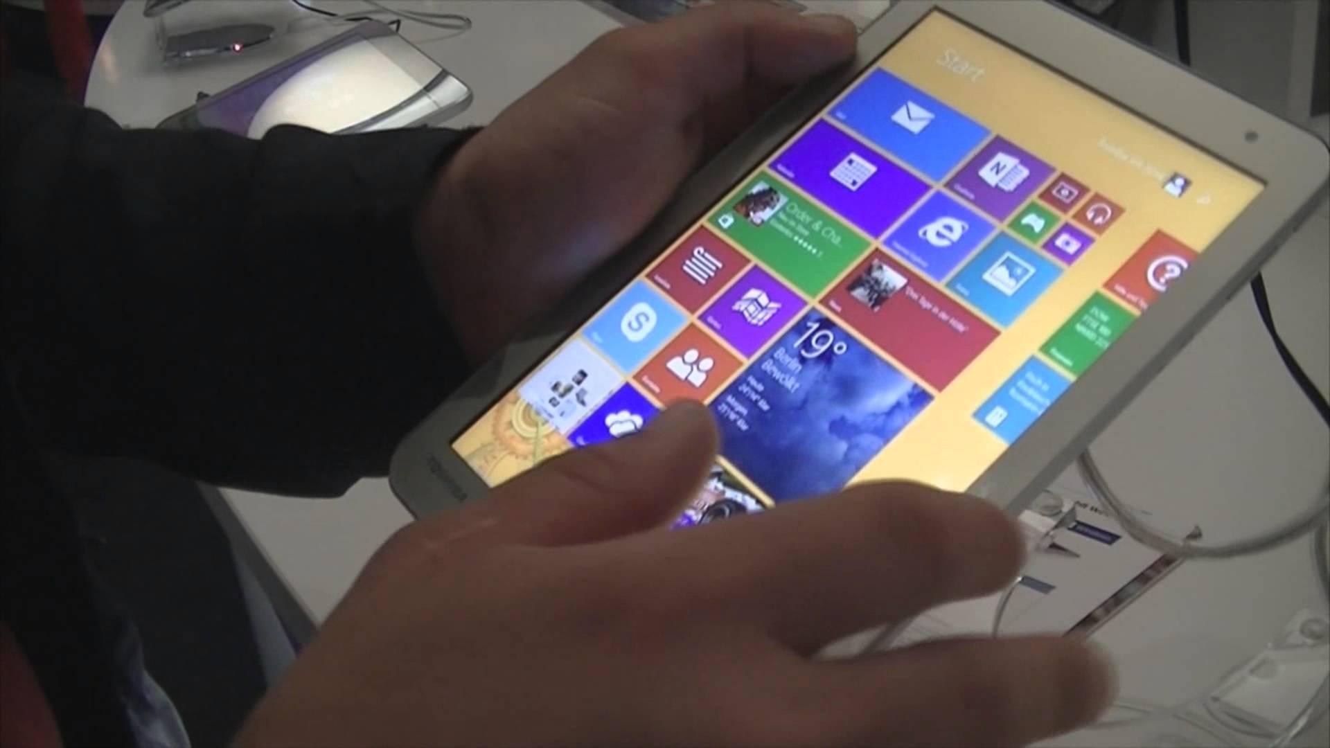 IFA 2014 : Prise en main des tablettes tactiles Toshiba Encore 2 au format 8 et 10 pouces