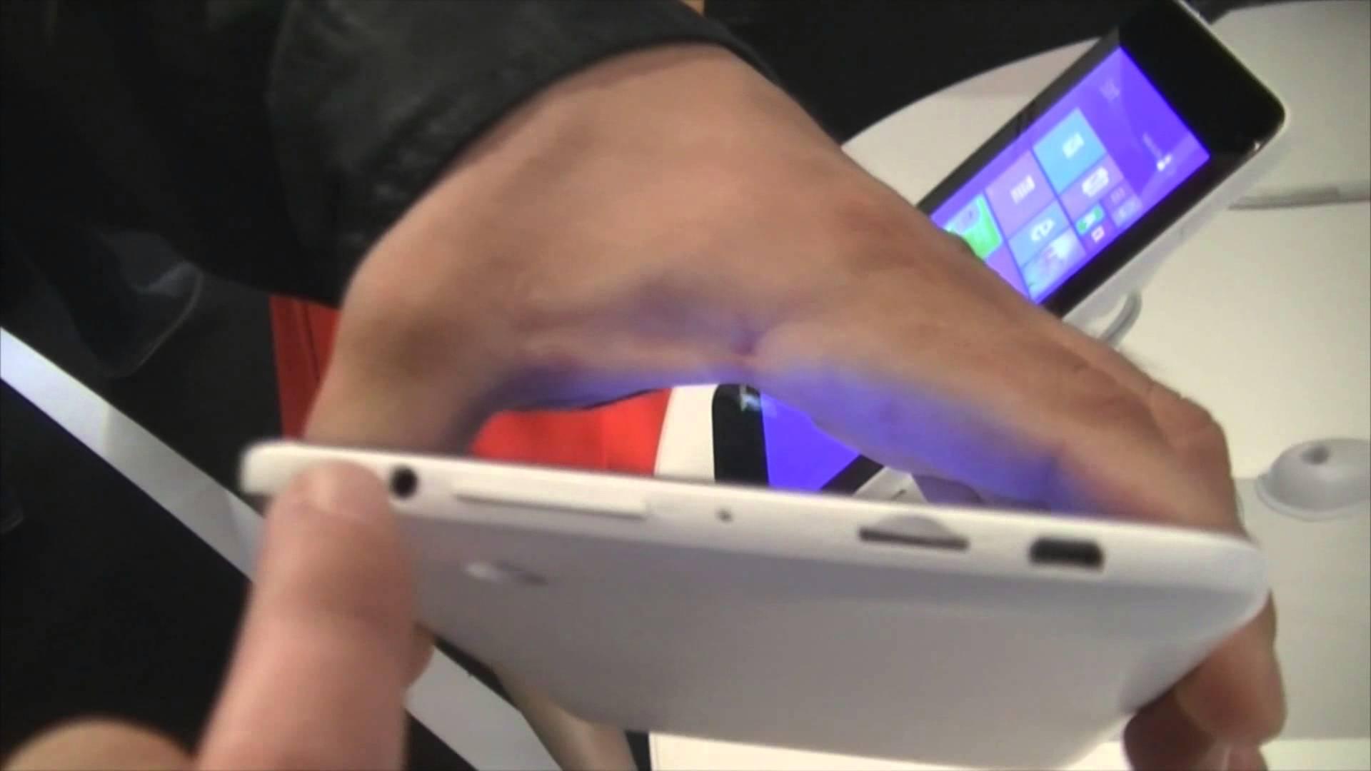 IFA 2014 : Toshiba Encore Mini, nouvelle tablette 7 pouces présentée à l'IFA 2014
