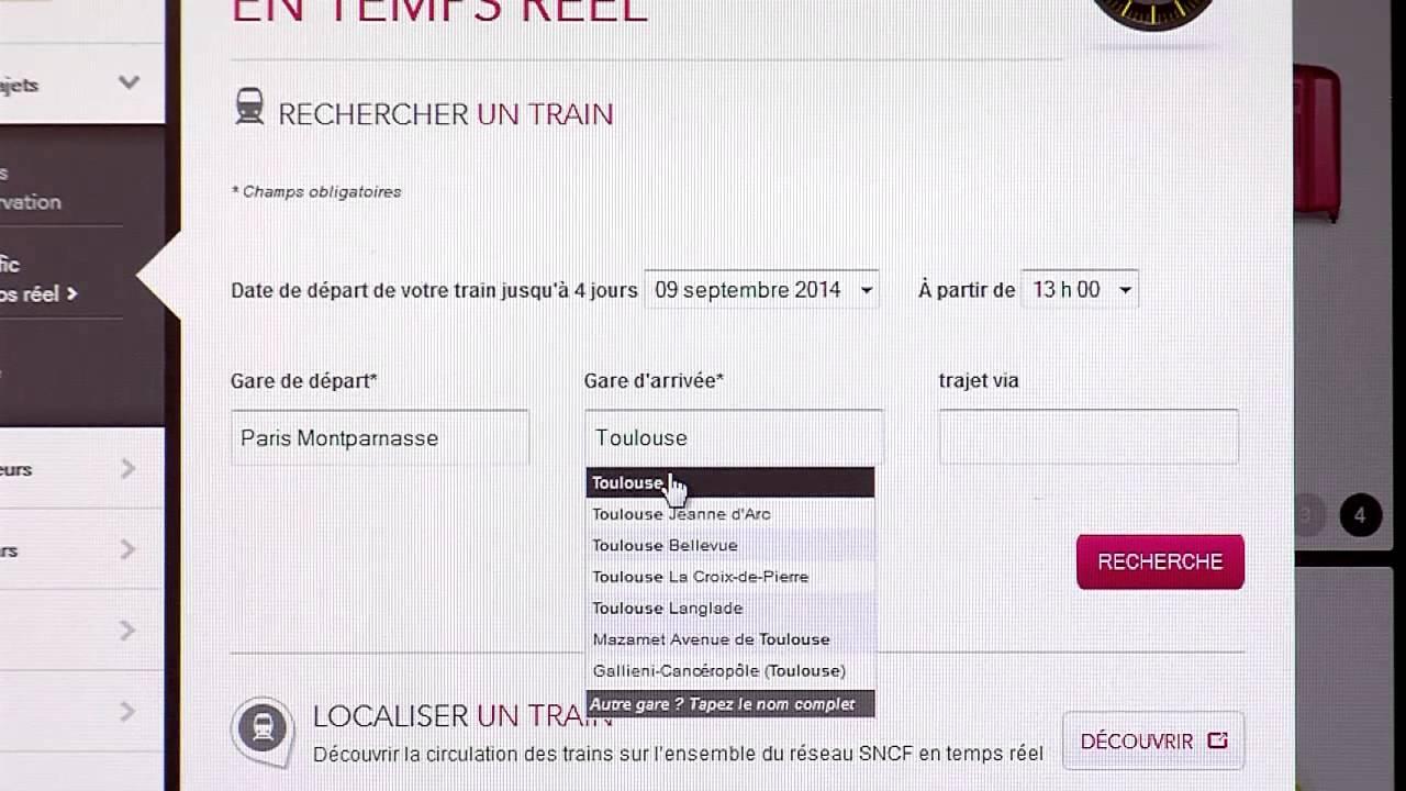 SNCF : suivez les trains en direct !