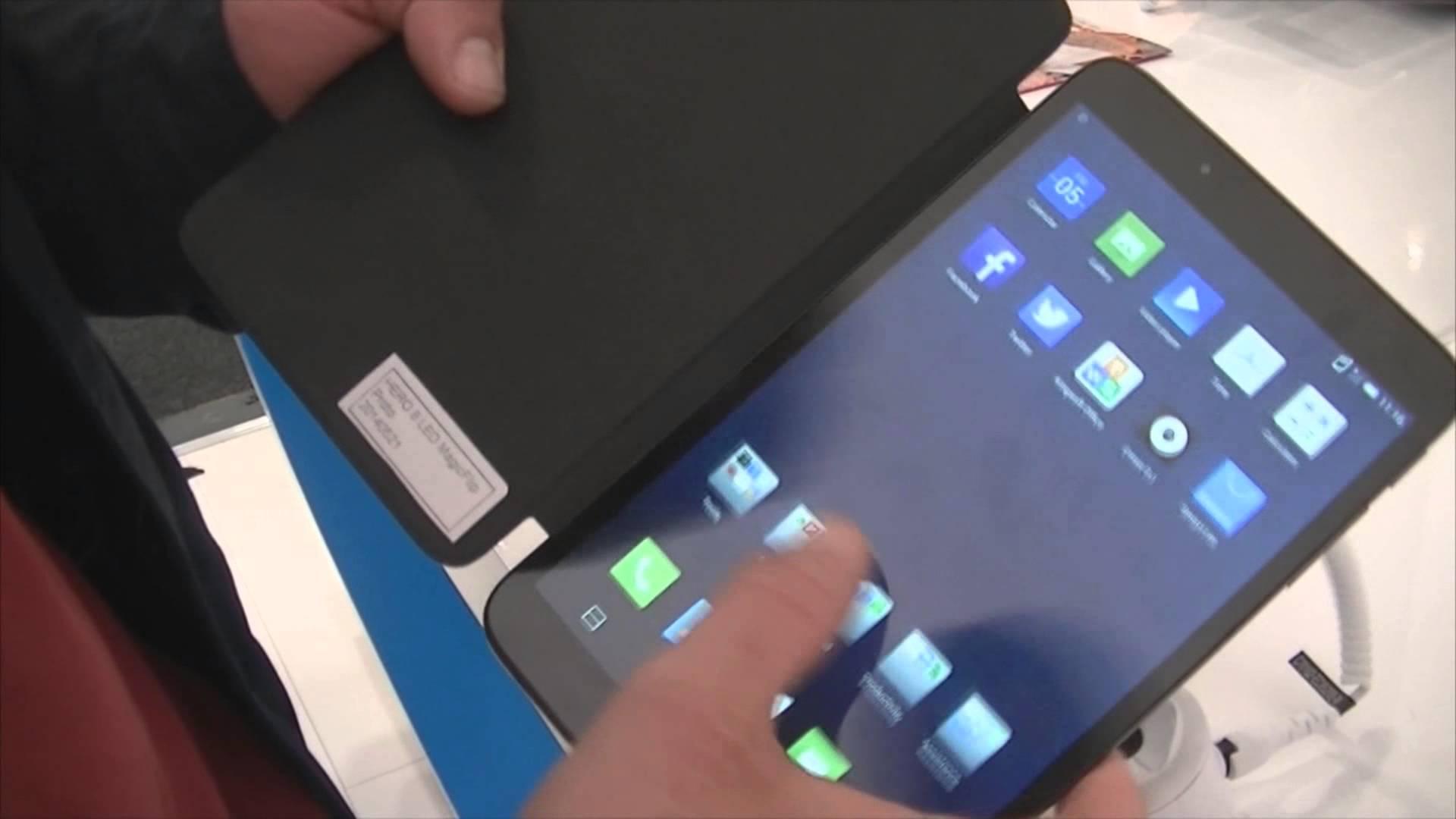 IFA 2014 : Prise en main de la tablette Alcatel One Touch Hero 8