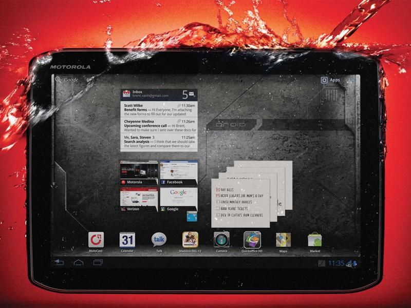 Le retour de Motorola sur le marché des tablettes tactiles