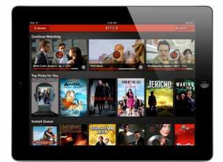 NETFLIX : Regardez vos films ou séries TV préférées sur tablettes  1