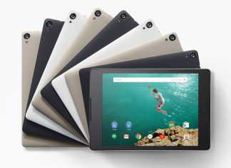 Google dévoile son nouveau smartphone Nexus 6 et sa tablette Nexus 9  5