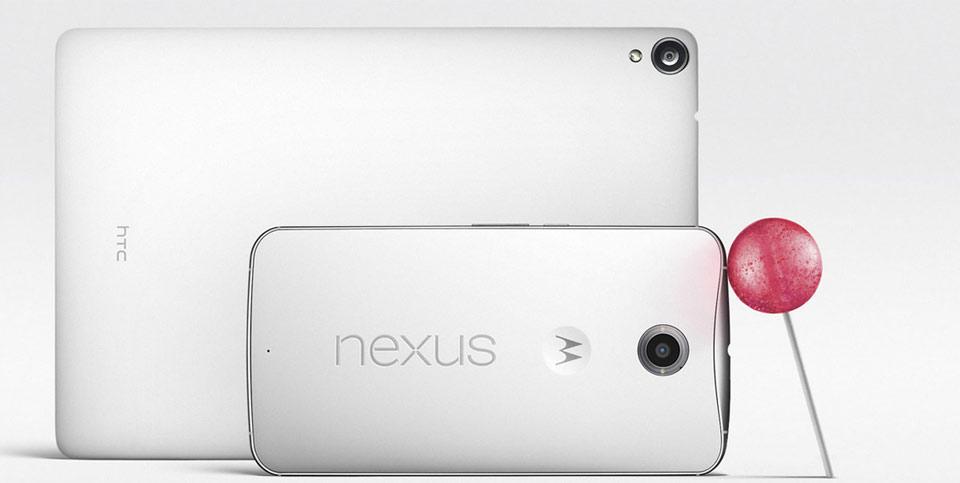 Google dévoile son nouveau smartphone Nexus 6 et sa tablette Nexus 9