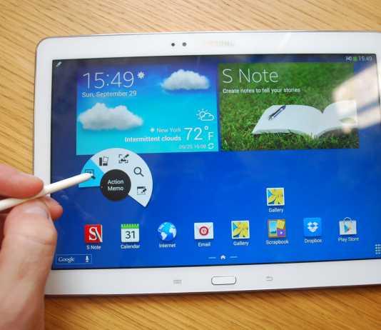 Samsung confirme une nouvelle tablette Galaxy Note 10.1 pour 2015 2