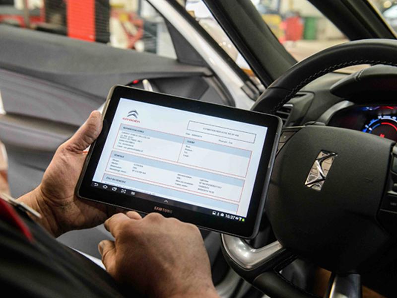 Citroën s'équipe de 2000 tablettes Galaxy Tab de Samsung