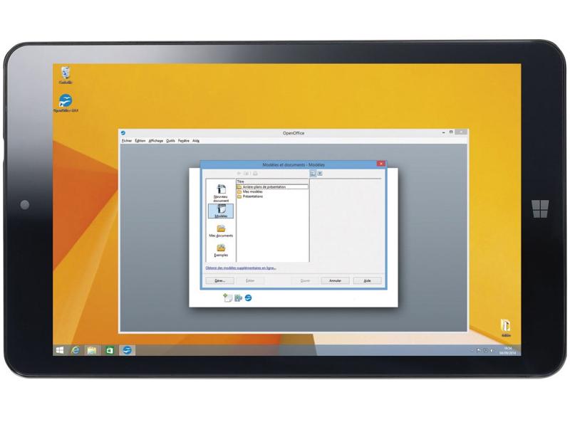 touchlet xwi 8 la tablette pour petits budgets sous windows 8 1. Black Bedroom Furniture Sets. Home Design Ideas
