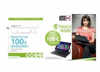[Offre Spéciale] 100 euros remboursés pour l'achat d'un Aspire R 13 1