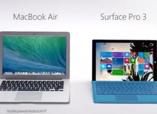 Surface Pro 3 vs MacBook Air : la première publicité comparative de Microsoft