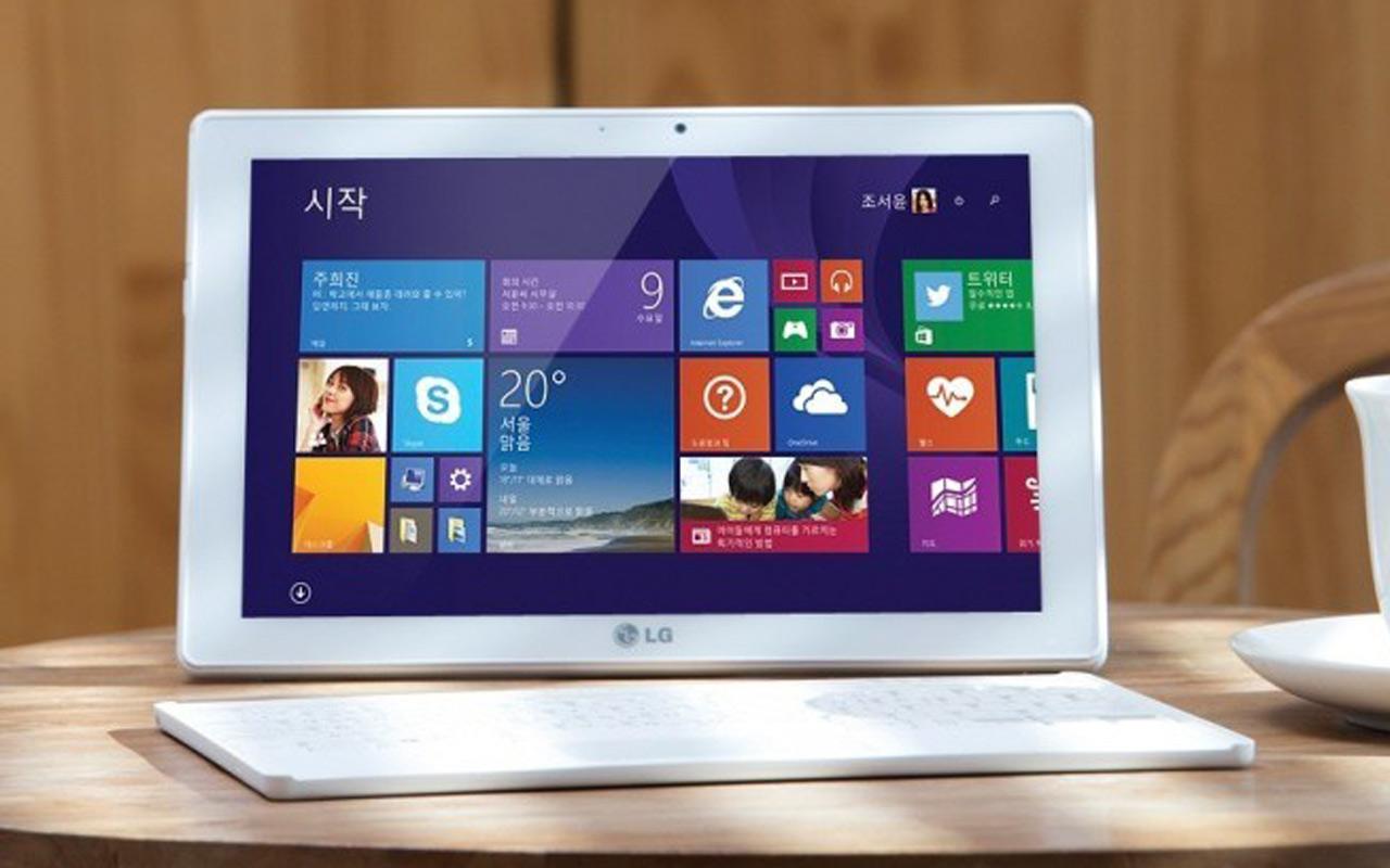 LG lance la Tab Book Duo, une tablette PC convertible sous Windows 8.1