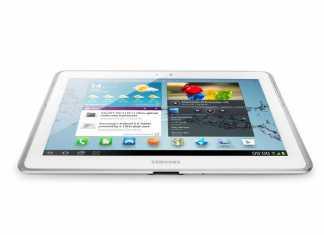 Une tablette Samsung Galaxy Tab 5 de 10 pouces en approche  1
