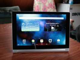 Test de la tablette Lenovo Yoga Tablet 2  8