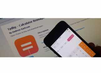 Tydlig réinvente l'utilisation de la calculatrice sur iOS 5