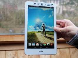Test et avis tablette Acer Iconia Tab 8 4