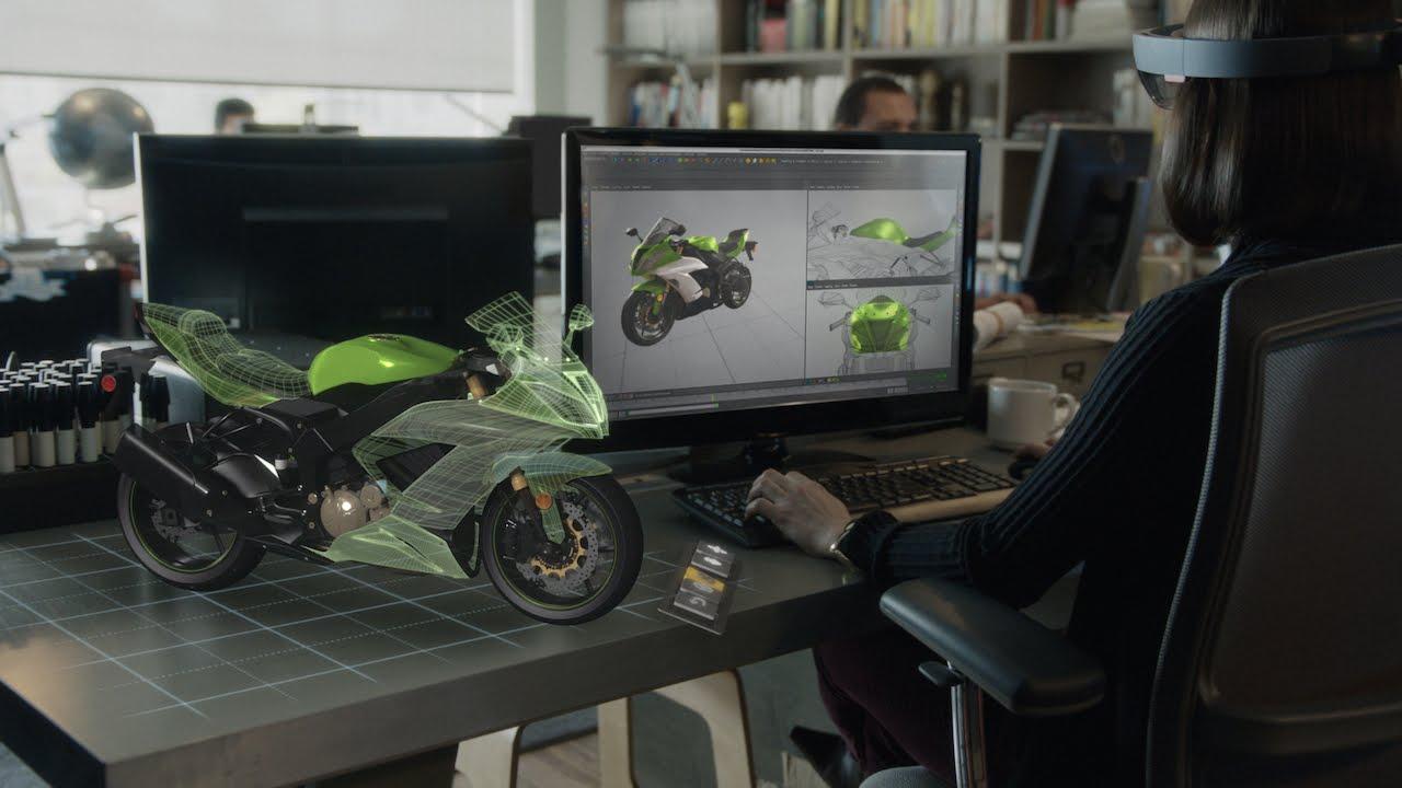 Windows HoloLens : un casque à réalité augmentée étonnant !